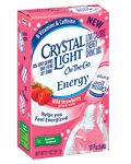 crystal light travel packets water bottle